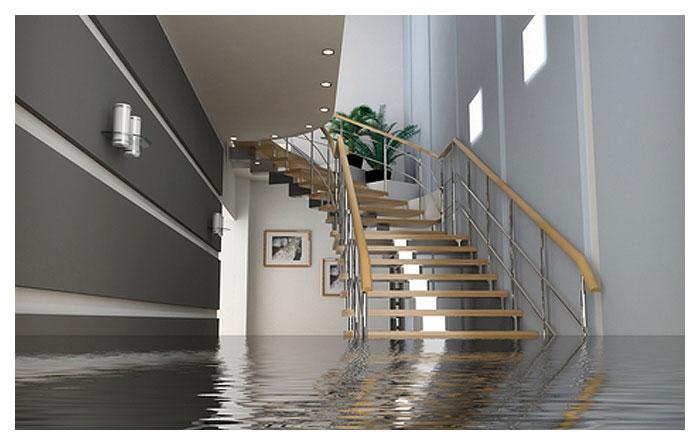 water in basement repair