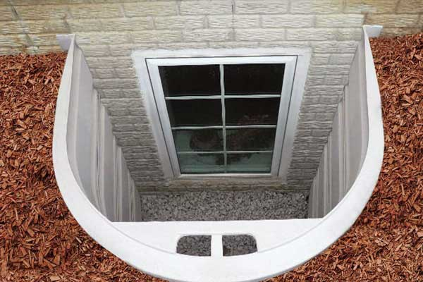 window well and window sealing to prevent water getting into your basement